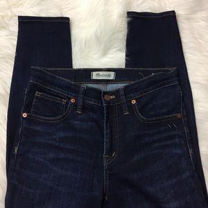 • Madewell High Rise Skinny Jeans